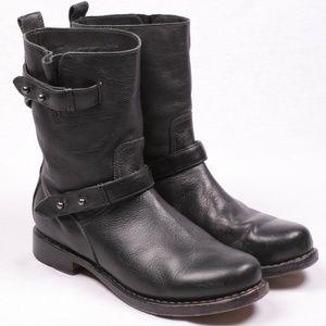 RAG & BONE Leather Black Boots Women 40
